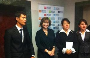 Young Uzbek Entrepreneurs Compete for the Enterprise Award