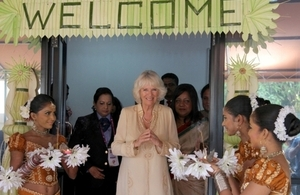 Recent visit of The Duchess of Cornwall to Women In Need (WIN)'s Colombo Crisis Centre