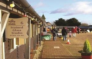 Weyhill Fairground Craft and Design Centre CIC