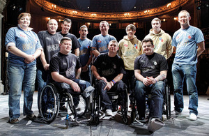 Bravo 22 Company, a project for wounded, injured and sick Service personnel, currently in recovery capability programmes, have signed up to create, rehearse and perform 'The Two Worlds of Charlie F' at the Theatre Royal Haymarket