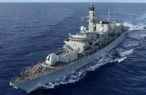 HMS Lancaster visits Barbados for Independence celebrations