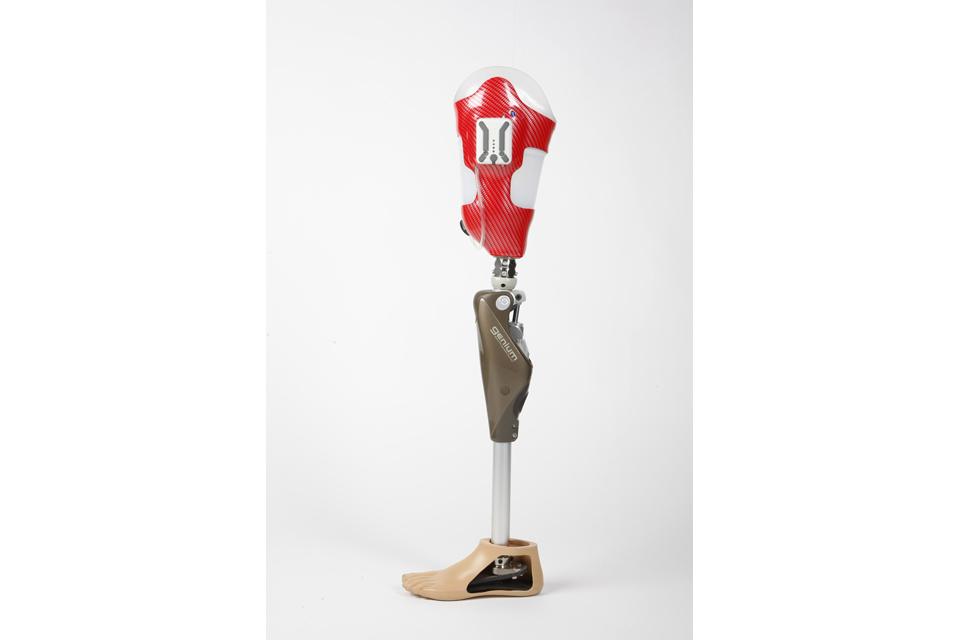 The Genium bionic prosthetic leg system