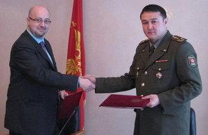 Mr Derek Sturge and Colonel Imanov