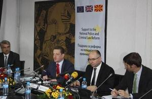 Partnership in Macedonian european integration reforms marked.
