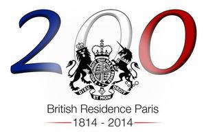 Bicentenary logo - Credits: British Embassy Paris