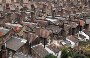 Rooftops of houses