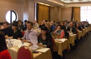 Participants of the NPM seminar in Almaty