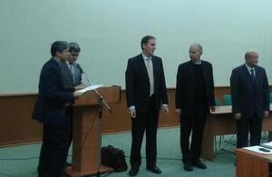 British expert delivers lecture on public service in Uzbekistan