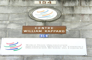 The World Trade Organisation in Geneva