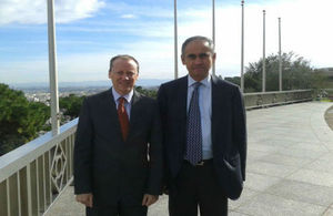 Lord Darzi in Algeria
