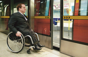 Improving accessibility for country's 12m disabled people