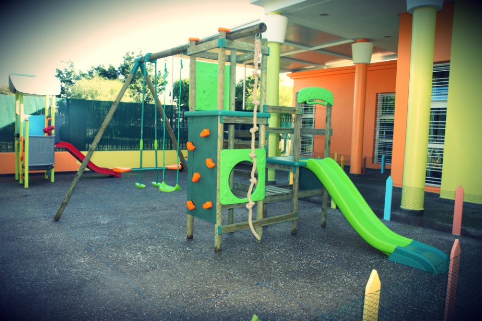 A part of the playground