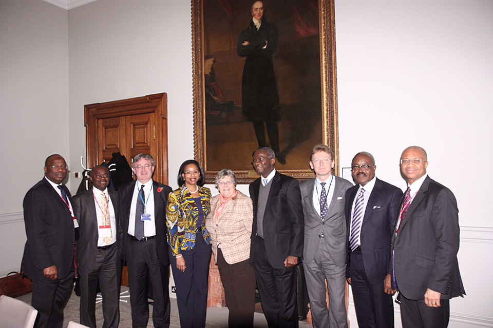 Governor Fashola meeting UK power company representatives