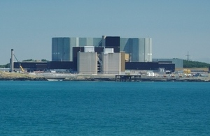 The current Wylfa nuclear power station