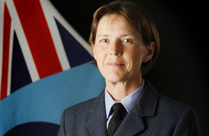 Air Vice-Marshal Elaine West [Picture: Crown copyright]