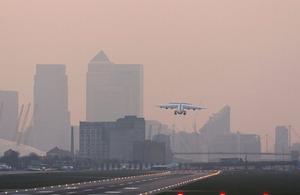 Plane runway