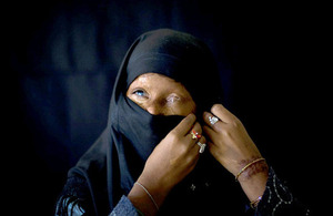 Naila was left severely disfigured by an acid attack when she was 14 years old. Picture: Acid Survivors Foundation