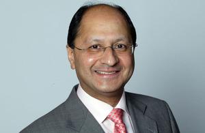 Minister Shailesh Vara