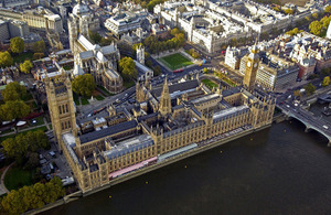 The Houses of Parliament (library image) [Picture: Geoff Parselle, Crown copyright]