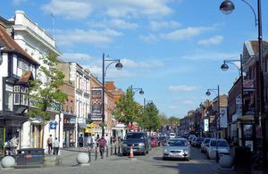 High Wycombe high street