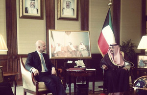 Foreign Secretary in Kuwait