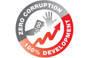 UN Anti Corruption logo