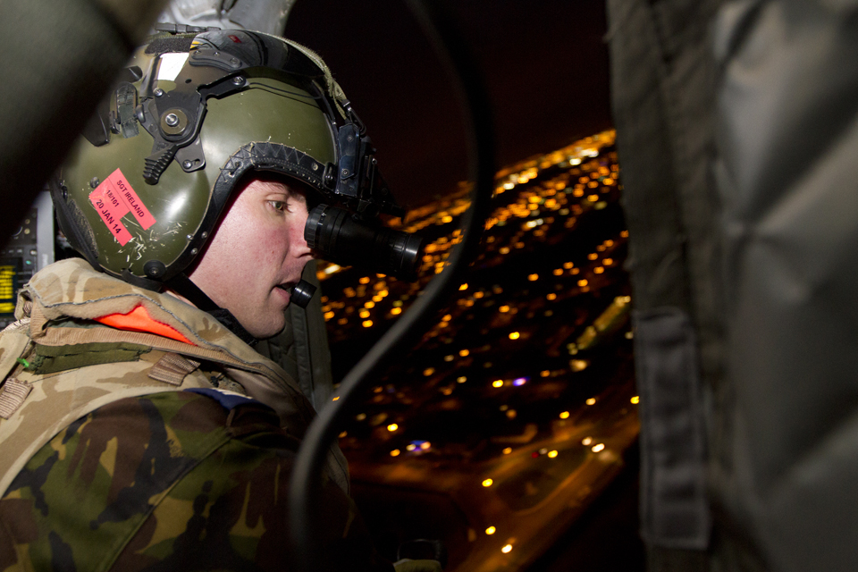 Sergeant Ireland from 18 Squadron