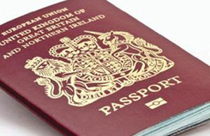 UK passport processing