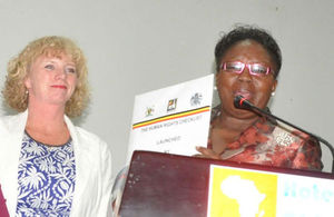 Launch of Human Rights Checklist by British High Comissioner and Speaker of Parliament