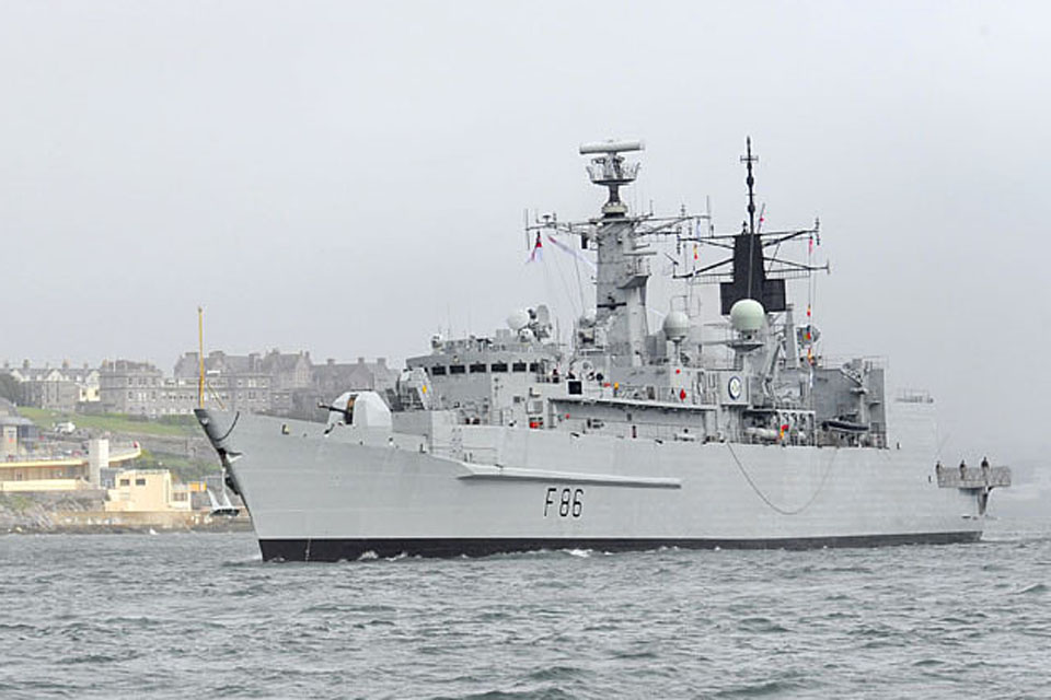HMS Campbeltown (stock image)