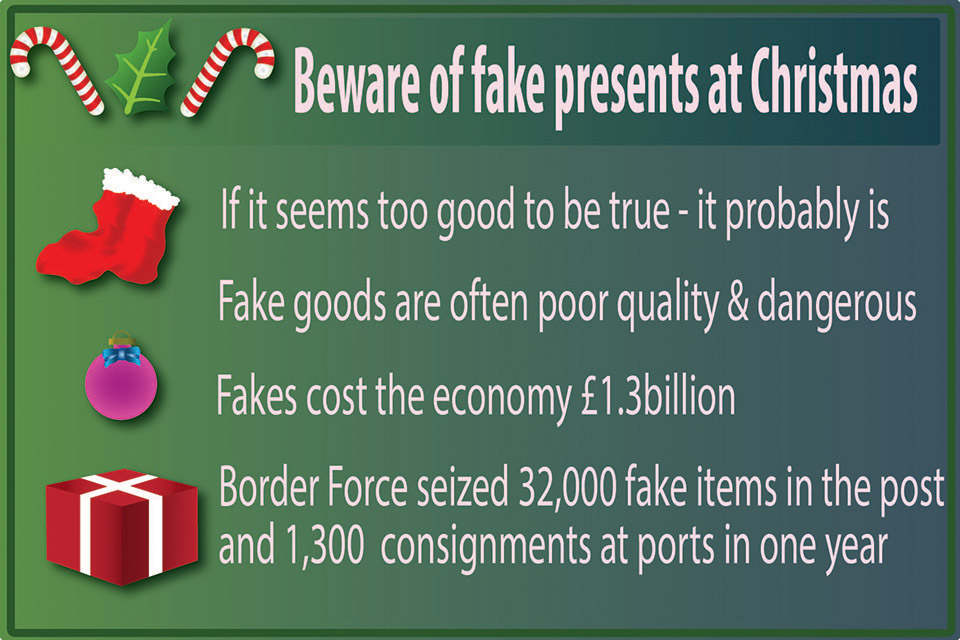 Beware of fake goods