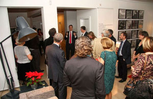Ambassador David Slinn hosted Christmas reception for members of the British community