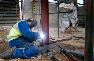 Contractor working on the MOD estate (library image) [Picture: Crown copyright]