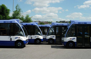 Accessible buses used in the South Yorkshire PTE area