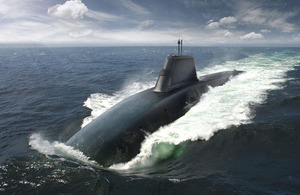 A computer-generated image of a Successor Class submarine [Picture: BAE Systems]
