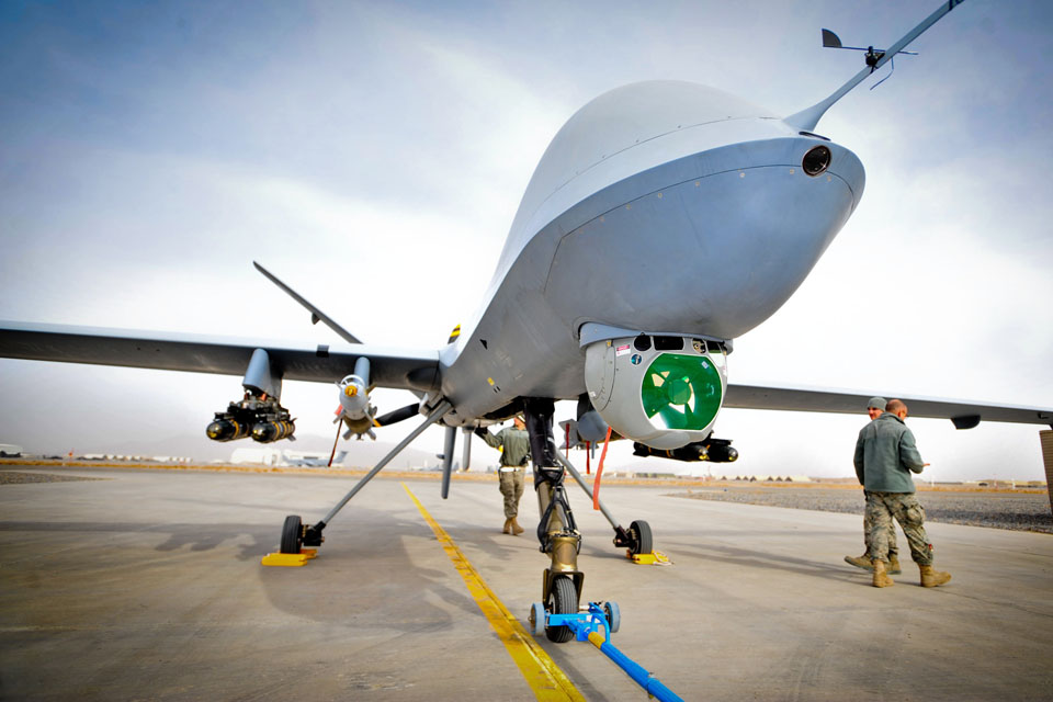 Reaper remotely-piloted air system