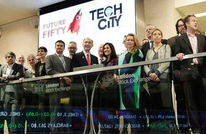 The Future Fifty companies open the London Stock Exchange