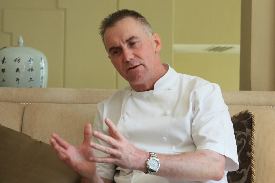 British celebrity chef Gary Rhodes created a special menu for The Majestic Hotel Kuala Lumpur