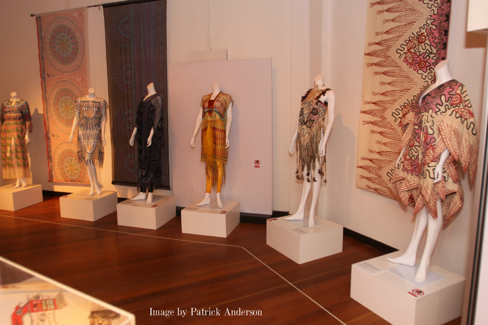 Zandra Rhodes Textile Exhibition at the Textile Museum, Kuala Lumpur