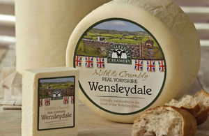 Wensledyale Cheese
