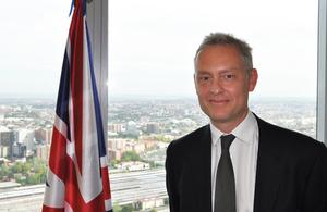 Simon Manley, embajador del Reino Unido en España
