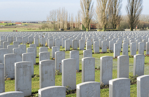 Graves in Ypres