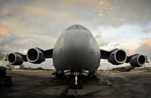 A Royal Air Force C-17 Globemaster aircraft at RAF Brize Norton (library image) [Picture: Senior Aircraftman Neil Chapman, Crown copyright]