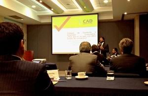 """CAD organizó una conferencia llamada """"Transparencia y Lucha contra la Corrupción: El desarrollo de un Código de Conducta Voluntario"""""""