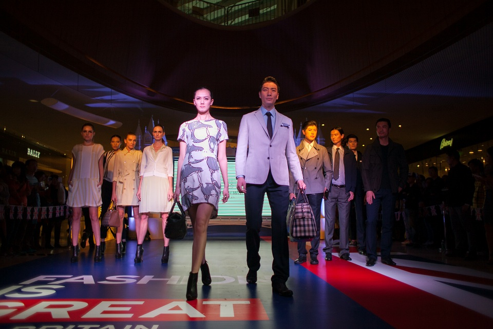 """Fashion is GREAT"" British Brands Catwalk"
