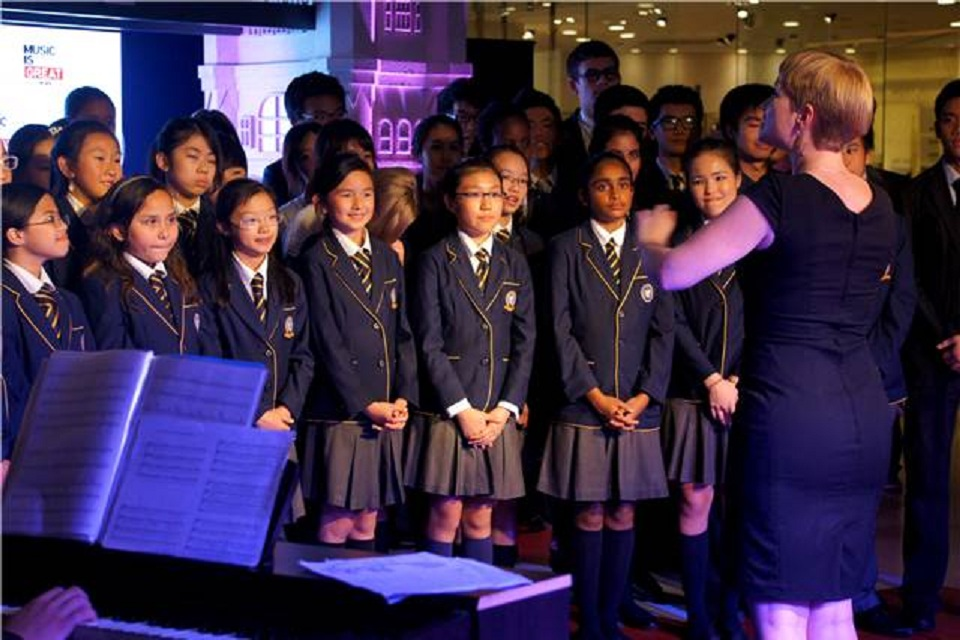 The British School Choir