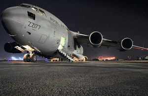 A Royal Air force C-17