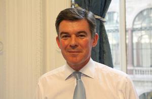 Foreign Office Minister Hugh Robertson