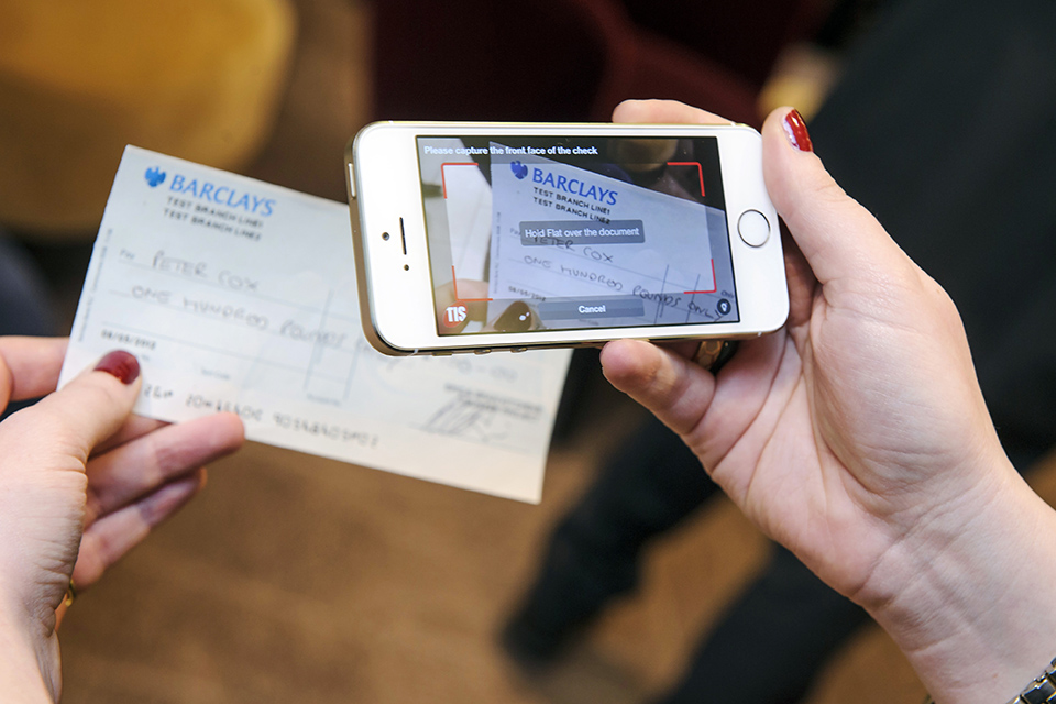 Cheque app