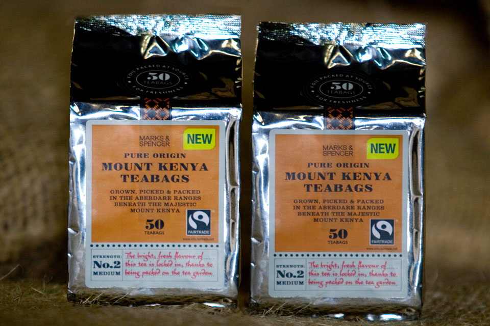 M&S Mount Kenya Teabags